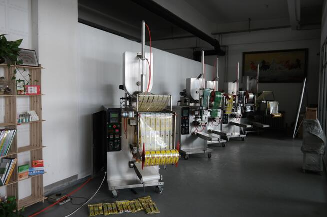 stand up pouch packing machine for filling and sealing packages