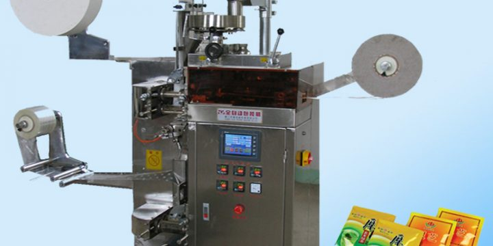 tea bag inner and outer bag packing machine