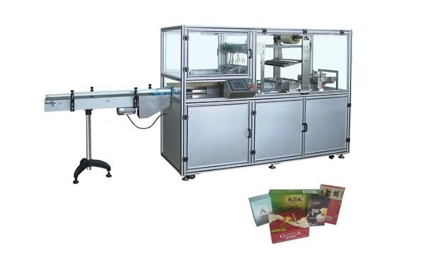 QP-400 Automatic Cellophane Wrapping Machine