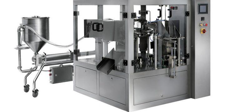 Liquid & Thick Liquid Fill-Seal Production Line