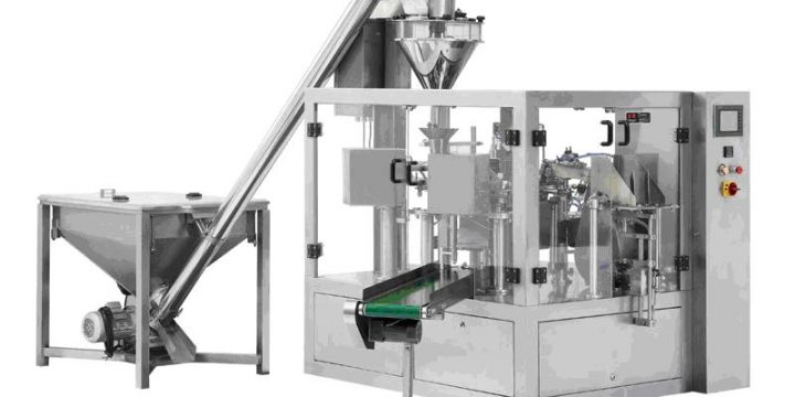 Powder Weigh-Fill-Seal Production Line