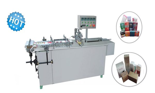 Semi auto Cellophane machine