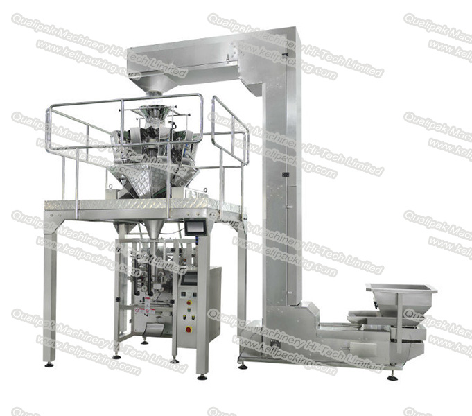 Gusset Bag Packing Machine with Radial Scale