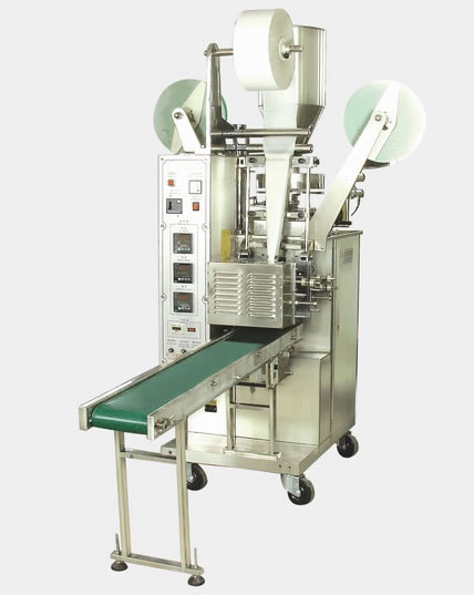 QP-170 filter tea packing machine with thread and tag