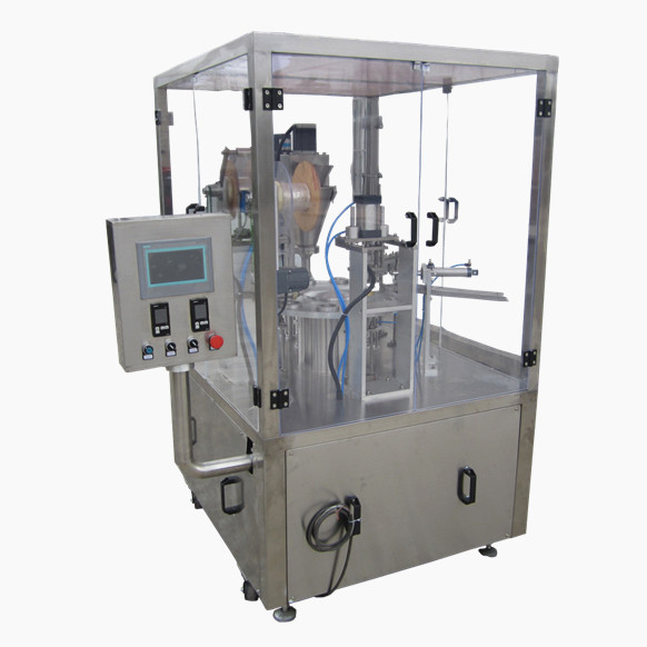 Automatic plastic bottled water filling sealing machine