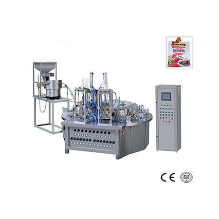 Plastic Bag Form Filling Sealing Packing Machine for Powder