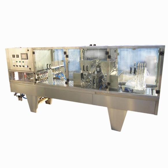 saline solution packing machinery