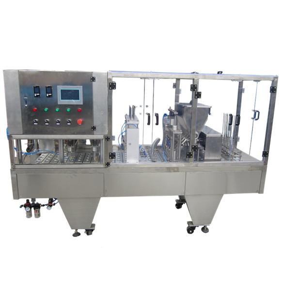 Automatic plastic bottled water filling sealing machine