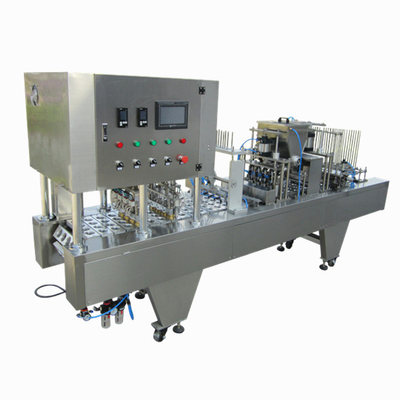 XBG32-2 manufacturers supplier hair grease cups filling and sealing machine