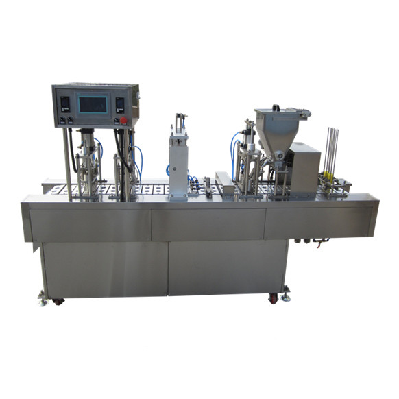 Orange juice/banana juice pouch with cap filling packing machine