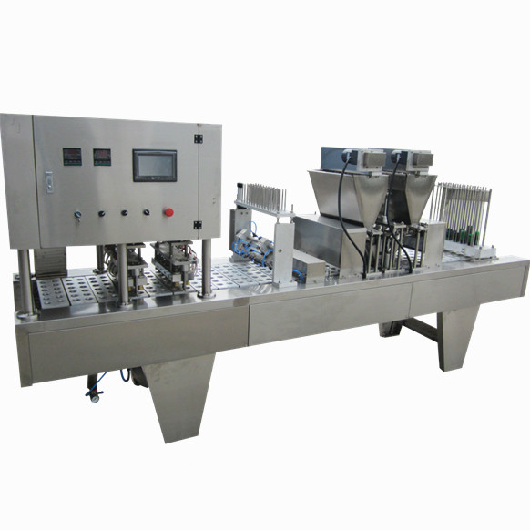 Automatic small spices powder stand up pouch filling packing machine