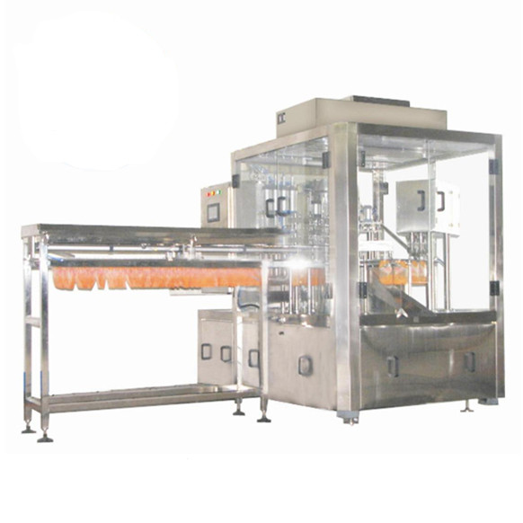 Guangzhou CX semi-automatic aluminum tube filling and folding machine for paint