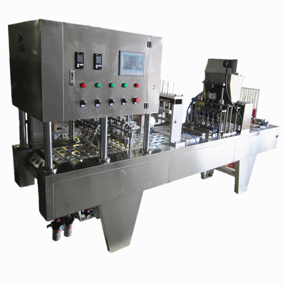 High quality and manufacturer direct sale tube filling and sealing machine with video