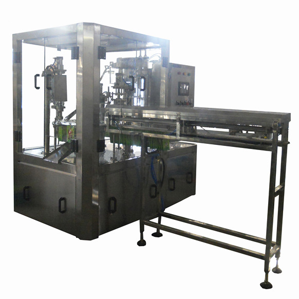 saline solution packing machinery