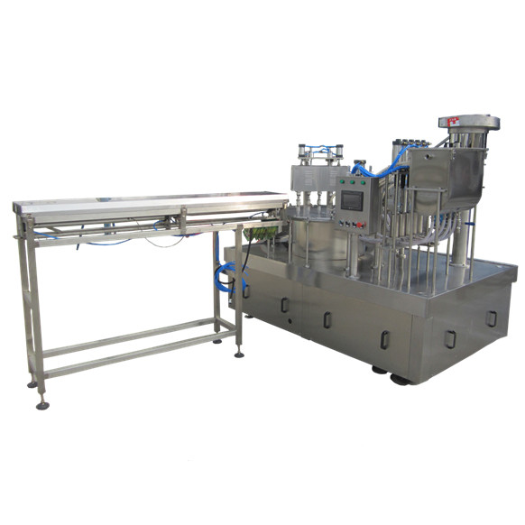 glass bottle milk packing machine