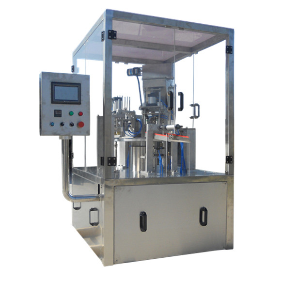 High speed Instant tea powder filling plastic pouch packaging machine