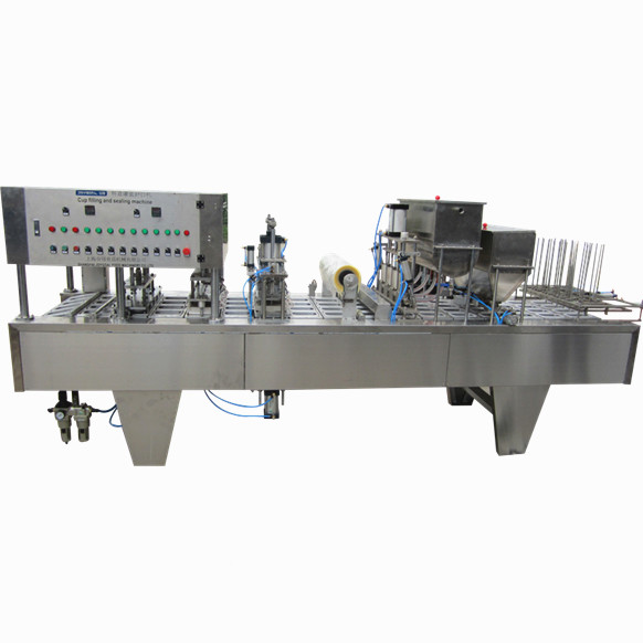 Semi automatic box plastic film packaging machine