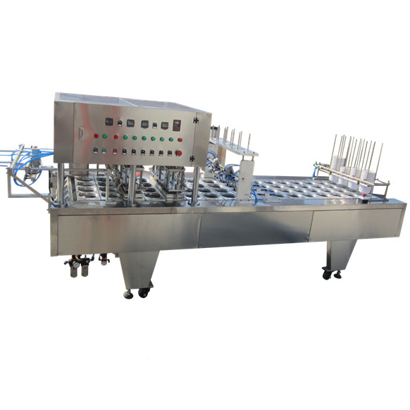 cream cheese soy sauce yogurt cup filling sealing machine