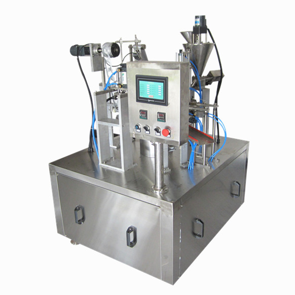 Small Bussiness Fully Automatic Vertical Form Fill Seal Almond Pouch Packing Machine