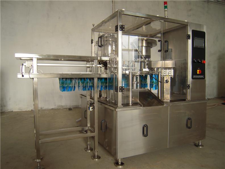 fast chocolate sauce packaging machine / KFC Tomato paste bag making machine